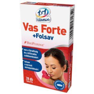 1x1 Vitamin Vas Forte + C + Folsav filmtabletta - 28db