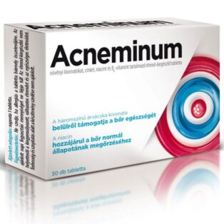 Acneminum tabletta - a bőr egészségéért - 30db