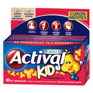 Béres Actival Kid rágótabletta - 80db