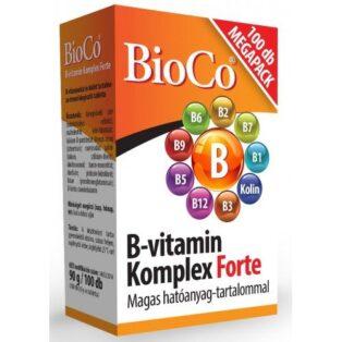 BioCo B-vitamin Komplex Forte Megapack - 100db
