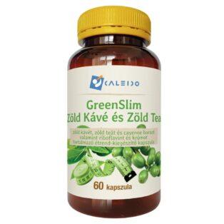 Caleido GreenSlim Zöld kávé és Zöld tea kapszula - 60db