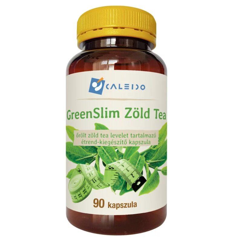 Caleido GreenSlim Zöld tea kapszula - 90db