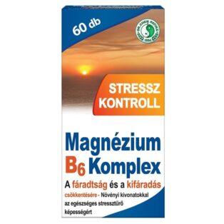 Dr. Chen Magnézium B6 Stressz kontroll tabletta - 60db