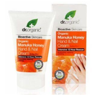 Dr. Organic Bio manuka mézes kéz-és körömápoló - 125ml