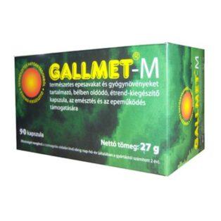 Gallmet-M kapszula - 90db