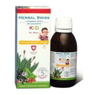 Herbal Swiss KID köhögés elleni szirup gyerekeknek - 150ml