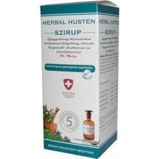 Herbal Swiss felnőtt köhögés elleni szirup - 300ml