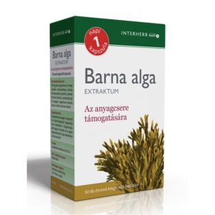 Interherb barna alga extraktum - 30 db kapszula