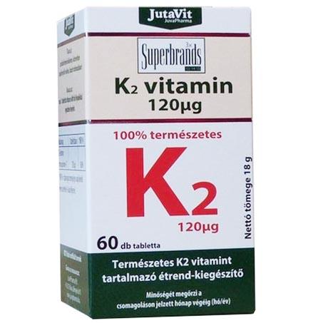 JutaVit K2-vitamin tabletta - 60 db