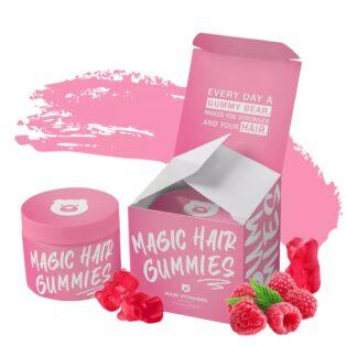 Magic Hair Gummies hajvitamin gumivitamin - 60db