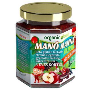 Manó Manna elixír béta-glükánnal 3 éves kortól - 210g
