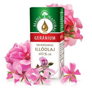 Medinatural illóolaj geránium - 10ml