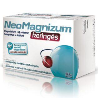 NeoMagnizum Keringés magnézium tabletta - 50db