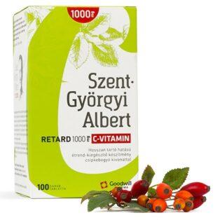 Goodwill Szent-Györgyi Albert Retard C-vitamin 1000mg tabletta - 100db