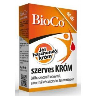 BioCo Szerves króm - 60db