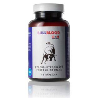 BullBlood Potencianövelő étrend-kiegészítő férfiaknak - 60db