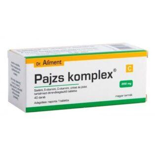 Dr. Aliment Pajzs komplex tabletta - 40db