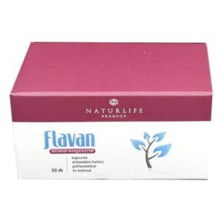 Flavan Naturlife antioxidáns hatású polifenolokkal és inulinnal kapszula - 60db