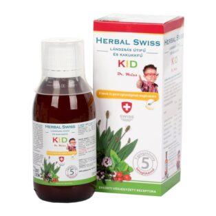 Herbal Swiss KID köhögés elleni szirup gyerekeknek - 300ml
