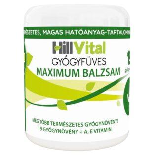 HillVital Gyógyfüves Maximum fájdalomcsillapító balzsam - 250ml