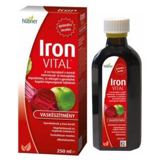 Hübner Iron Vital szirup - 250ml