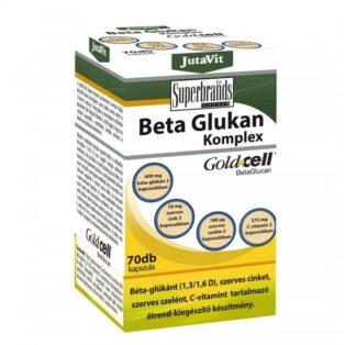 JutaVit Béta Glukan (Glükán) komplex kapszula - 70db