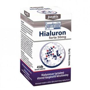 JutaVit Hialuron Forte 50mg tabletta - 45 db