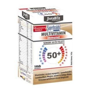 JutaVit Multivitamin Senior 50+ tabletta - 100 db