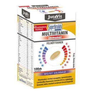 JutaVit Multivitamin felnőtteknek tabletta - 100 db
