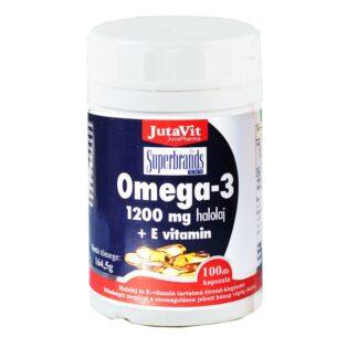 JutaVit Omega-3 + E-vitamin kapszula - 100 db