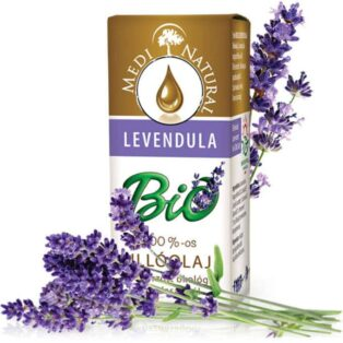 Medinatural bio illóolaj levendula - 5ml
