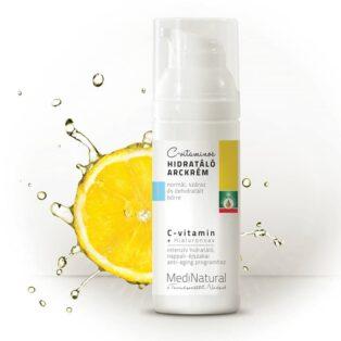 Medinatural C-vitaminos hidratáló arckrém - 50ml