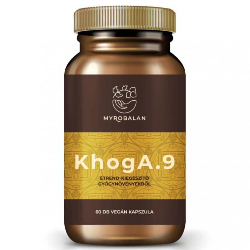 Myrobalan KhogA.9 - reflux kezelésére kapszula - 60db