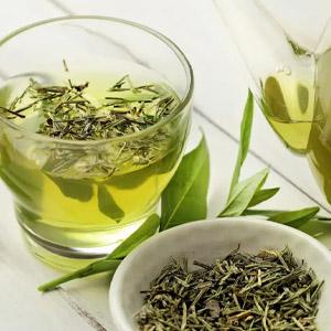 Zöld tea szálas