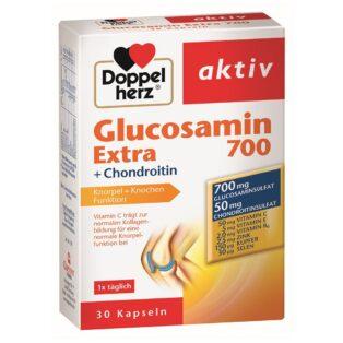 Doppelherz Glucosamin 700 Extra + Chondroitin kapszula - 30db