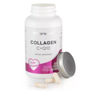 Fittprotein Kollagén C+Q10 for Women kapszula - 120db