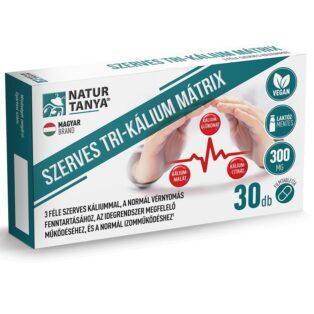 Natur Tanya Szerves Tri-Kálium Mátrix tabletta - 30db
