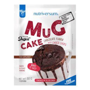 Nutriversum Dessert-Mugcake csoki-csoki darabokkal - 50g
