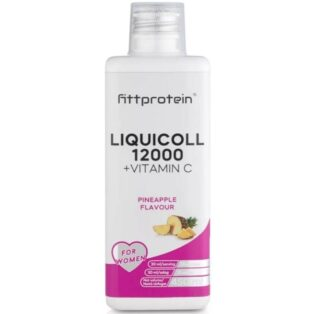 Fittprotein LiquiColl 12000mg + C-vitamin ananász ízű ital - 450ml