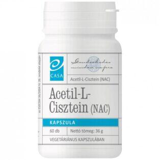 Casa Acetil L-Cisztein (NAC) immunrendszer erősítő kapszula - 60db