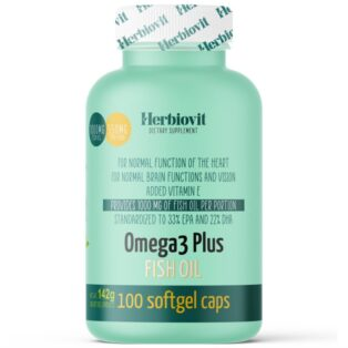 Herbiovit Omega-3 Plus halolaj lágyzselatin kapszula - 100db