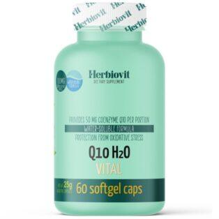 Herbiovit Q10 H2O Vital lágyzselatin kapszula - 60db