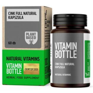 Vitamin Bottle Cink Full Natural kapszula - 60db